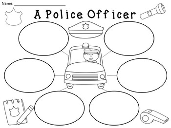 A+ Police Officer... Three Graphic Organizers