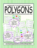 A Polygon Worksheet ★ FREEBIE ★