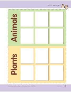 A Pond: Center Activity