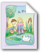 A Pond: Circle-Time Book
