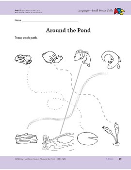 A Pond: Language and Math Activities