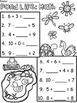 A+ Pond Life: Math... Addition and Subtraction Differentia