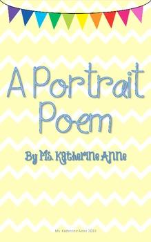 A Portrait Poem FREEBIE!