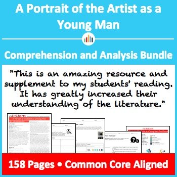A Portrait of the Artist as a Young Man – Comprehension and Analysis Bundle