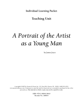 A Portrait of the Artist as a Young Man Teaching Unit