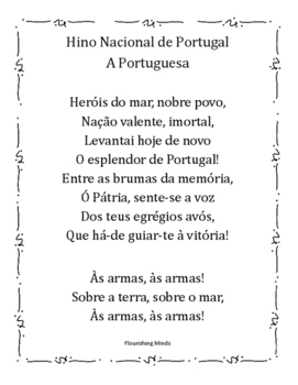 A Portuguesa - Hino Portugues (Portuguese National Anthem)