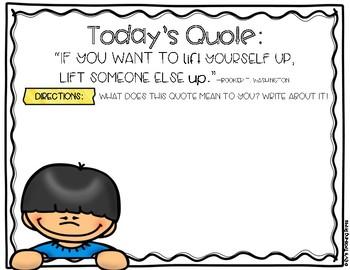 A Positive Mindset: 50 Quotes for Interpretation (Resource for Google Classroom)