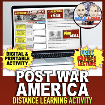 Truman and Post World War II America Activity