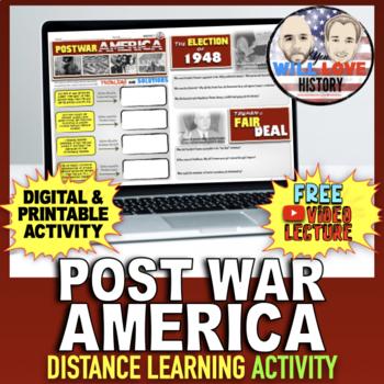 Truman and Post World War II America Activity