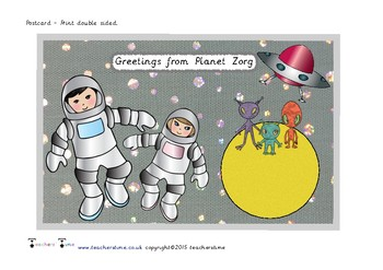 A Postcard From Planet Zorg