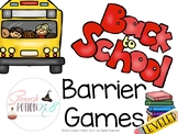 Speech, Language, and Listening: Barrier Games