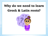 Power Point: A History Lesson on Greek & Latin Roots in the English Language