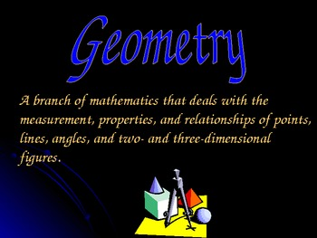 A PowerPoint Introduction to Geometry