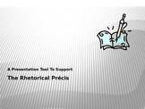 A Presentation Tool to Support The Rhetorical Precis
