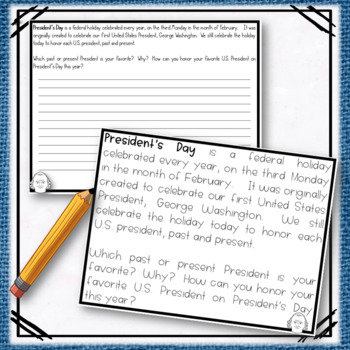 A President's Day Writing Prompt