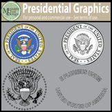 A Presidential Clip Art Freebie {Messare Clips and Design}