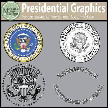 A Presidential Clip Art Freebie {Messare Clips and Design}