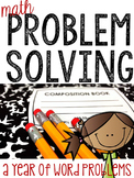 A Problem A Day: Word Problems for the Whole Year Bundle