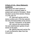 A Psalm of Life Analysis Groupwork Project
