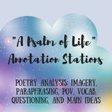 """Analyzing Poetry: """"A Psalm of Life"""" Annotation Stations"""