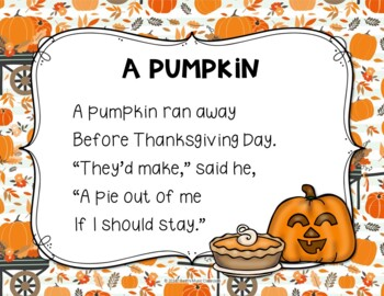 A Pumpkin - Autumn/Thanksgiving Folk Song with Orff Accompaniment