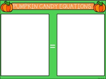 A+ Pumpkin Candy Equation Practice: Addition, Subtraction