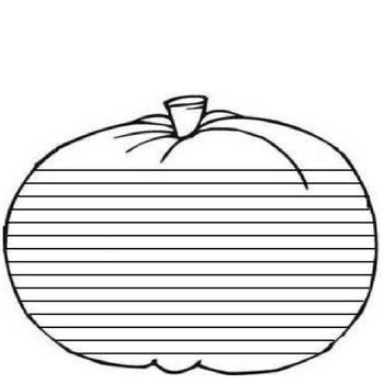 A Pumpkin Character Book Project