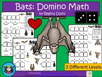 A+ Addition Bats: Domino Math