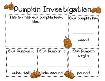 A Pumpkin Mini Unit!