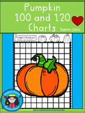A+ Pumpkin Numbers 100 and 120 Chart