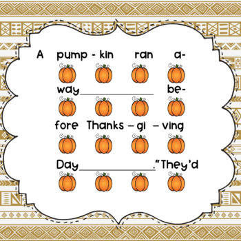 A Pumpkin Ran Away - Song to Teach Dotted Half Note
