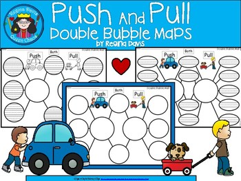 A+ Push and Pull:  Double Bubble Maps