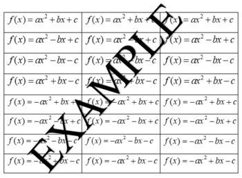 A Quadratic Project