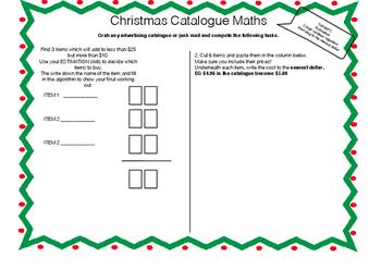 A Quick Christmas Activity Bundle