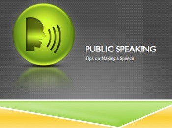 A Quick Guide to Making a Speech