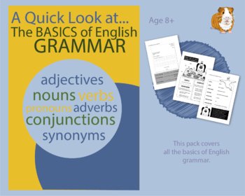 A Quick Look At The Basics Of English Grammar (EFL Work Pack) 8+