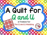 A Quilt for Q and U