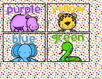 Classroom Library Labels - A.R. Color Labels