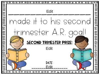 A.R. Reward Certificates