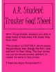 A.R. Student Tracker Goal Sheet (Editable)