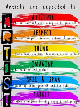 A.R.T.I.S.T. - Behavior Expectations