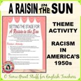 A RAISIN IN THE SUN MINI-PROJECT TO PROMPT DISCUSSION OF R