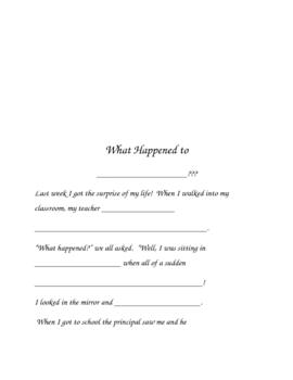 A REALLY fun creative writing activity