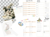 A Rabbits Tale Printable Journal Planner Daily To-Do List