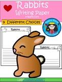 A+ Rabbits ... Writing Paper