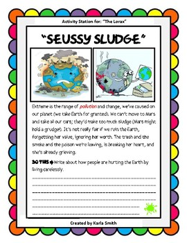 A Race Through Space with Dr.Seuss: Environmental Science and Pollution