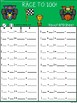 A+ Race To 100 Small Group Game With Addtion Recording Sheet
