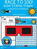 A+ Race To 100 Space or Solar Eclipse Theme With Addtion Recording Sheet