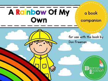 A Rainbow Of My Own A Book Companion By Take A Bite Tpt