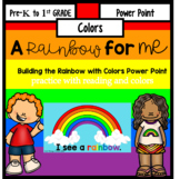 A Rainbow for Me {building a rainbow Power Point}